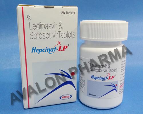 Hepcinat LP (generic Harvoni)