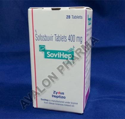 Sofosbuvir 400mg - SoviHep