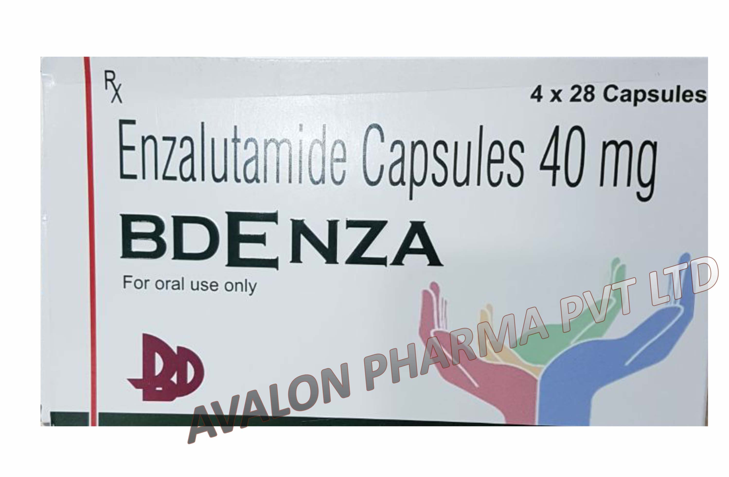 Enzalutamide 40mg