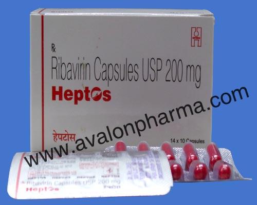 Ribavirin - Heptos capsules