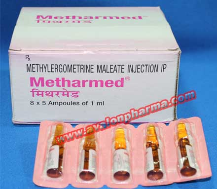 Methylergometrine injection