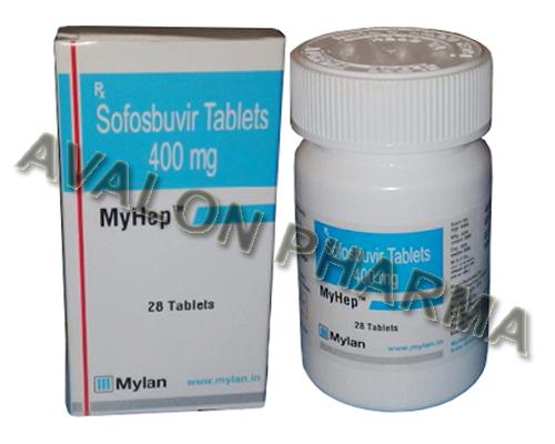Sofosbuvir 400mg - MyHep