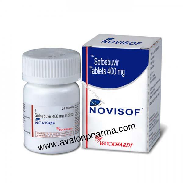 Sofosbuvir 400mg - Novisof