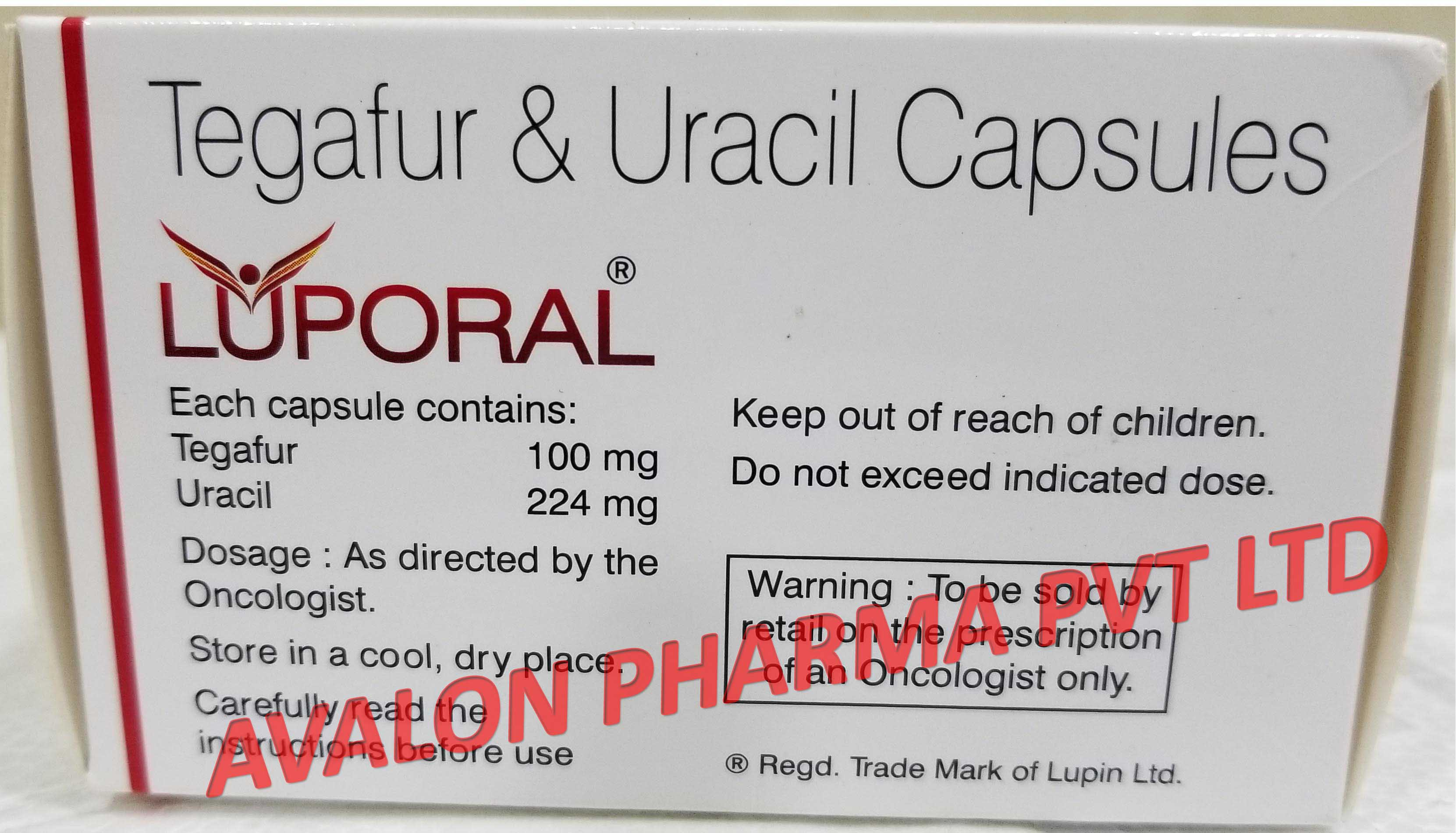 Tegafur and Uracil capsules