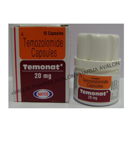 Temozolomide - TEMONAT