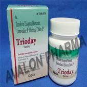 Tenofovir + Lamivudine + Efavirenz